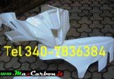 Carena Carenatura In Tessuto di Vetro Per Kawasaki ZX-10R 2011 2015