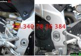 Paratacchi Pedane Pilota In Carbonio Per Aprilia RSV4 2009 – 2019 e Tuono V4 Tutte