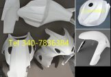 Carena , Codone , Copri Serbatoio e Parafango Anteriore , In Tessuto Di Vetro Suzuki GSX-R 1000 anni 2005 ? 2006 k5 k6