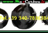 Cover KIT Copri Carter Motore ( Paracarter ) IN CARBONIO , Yamaha Mt-09 Engine Carbon Cover MT 09